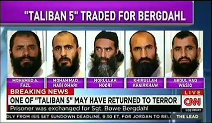 Report: US Suspects Prisoner Traded for Bergdahl Has Returned to Fight