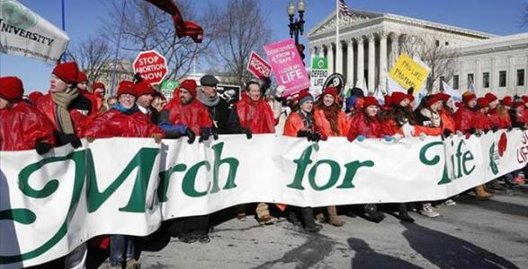 Surprise: 200,000-person Pro-life March Dismissed by Media as Non-Event