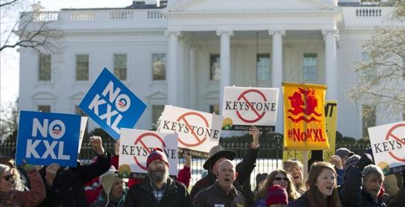 Obama Vetoes Keystone Pipeline
