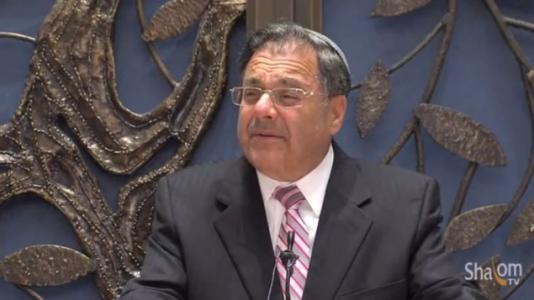 Prominent American-Israeli rabbi compares Obama to Haman