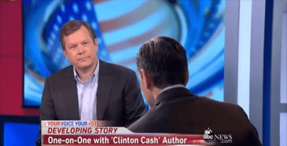 WATCH: Peter Schweizer Talks About Findings in New Book Clinton Cash