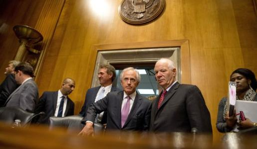 Senators strike deal to force review of Obama-Iran nukes agreement