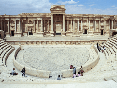 ISIS Puts Captured Roman Amphitheatre Back Into Use as Venue for Execution as Entertainment