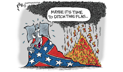 The Democrats Created and Own the Confederate Flag