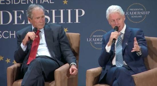 Everyone Should Hear the Two Minutes of Life Advice George Bush & Bill Clinton Just Gave Graduates