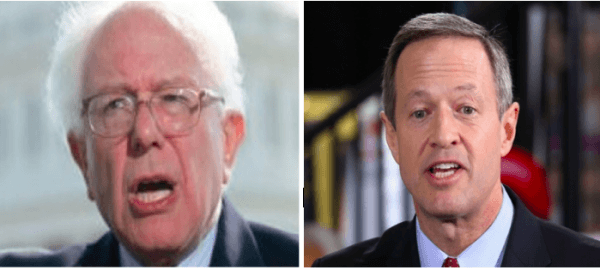 Sanders And O'Malley Shouted Off Stage At Progressive Conference