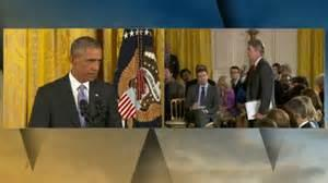 Watch: Obama Scolds CBS's Major Garrett for Question About US Hostages in Iran