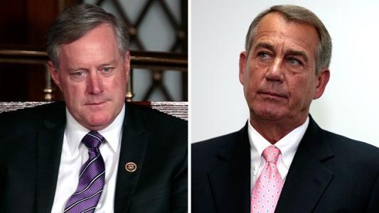 Republican seeks to oust Boehner