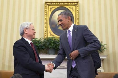 Obama to Meets With Vietnam Communist Party Chief
