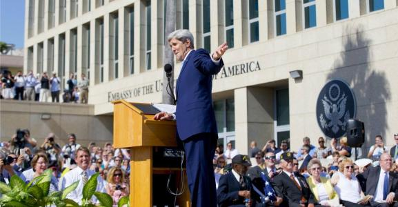 As John Kerry Celebrates Embassy Opening, Cuban Dissidents Are Barred From Attending