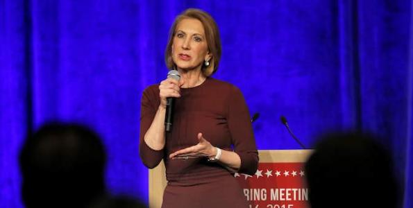 Does Carly Have the Record to Throw These Punches?