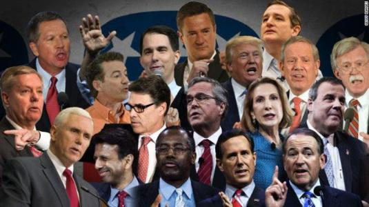 The First Republican Presidential Debate – A Review