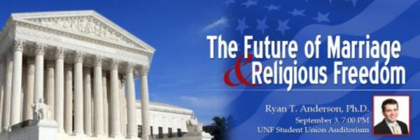 SPECIAL PRESENTATION ON THE FUTURE OF MARRIAGE & RELIGIOUS FREEDOM