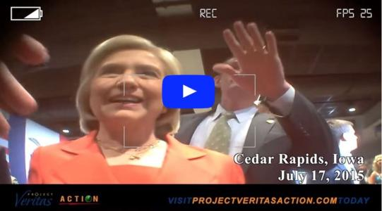 WATCH: Journalist Releases Undercover Sting Video, Warns Hillary – More Is Coming