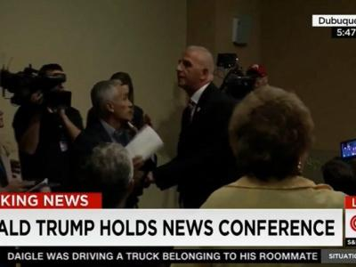 Watch: Jorge Ramos Escorted Out of Trump's Iowa Presser