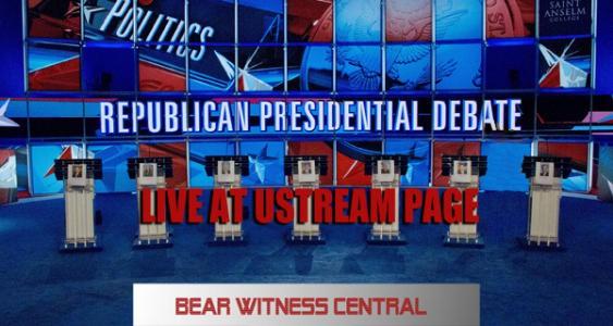 PRESIDENTIAL DEBATE 2015 – LIVE