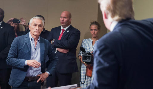 Jorge Ramos Is an Immigration Activist Posing as a Reporter