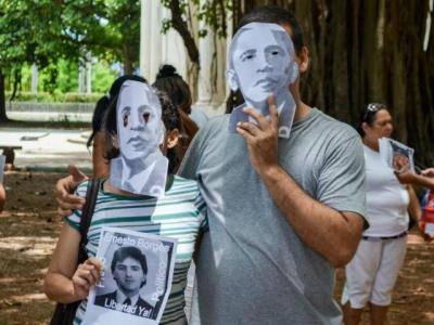 LEFT BEHIND: CUBAN DISSIDENTS NOT INVITED TO U.S. EMBASSY OPENING