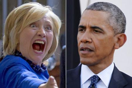 Book Claims Hillary Clinton Had Explosive Oval Office Meeting With Obama Over Email Scandal: 'Call Off Your F***ing Dogs, Barack!'