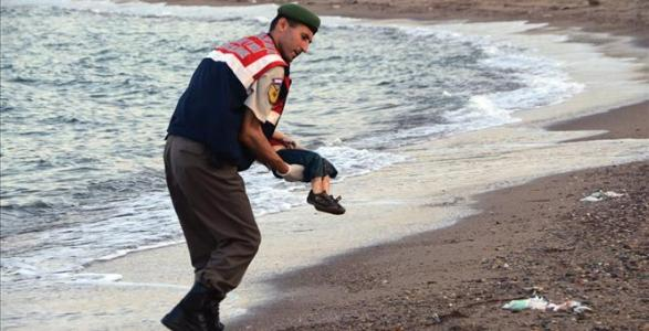 Syrian Toddler's Lifeless Body Found on Turkish Beach Shocks World