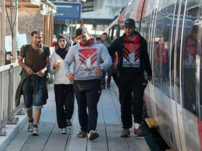GERMANY BLOCKS ALL TRAINS FROM AUSTRIA TO STEM MIGRANT OVERFLOW