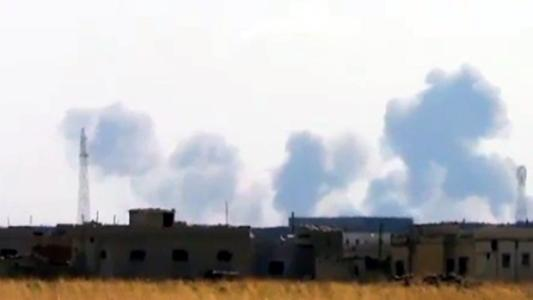 Russia conducts first airstrike in Syria