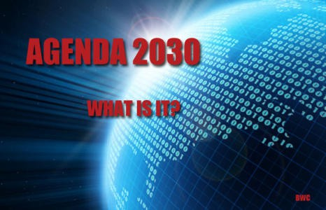 The 2030 Agenda: This Month The UN Launches A Blueprint For A New World Order With The Help Of The Pope