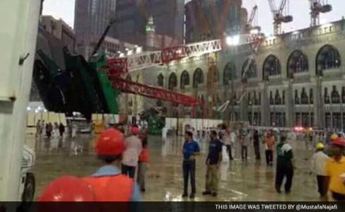 Grand Mosque at Mecca Crane Collapses on 9/11 for Annual Hajj Pilgrimage