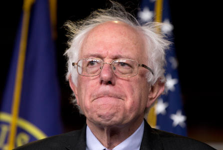 BERNIE SANDERS finally admits everyone's taxes must rise to pay for his spending