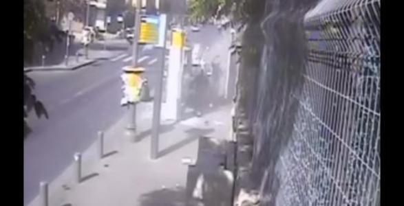 Horror: Palestinian Terrorist Slams Into Israeli Pedestrians With Car, Wields Meat Cleaver