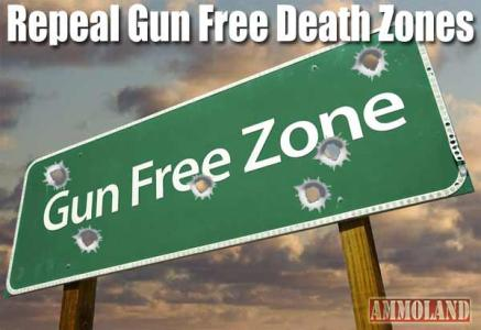 GUN FREE ZONES ARE DEATH TRAPS