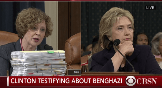 'I'd Like to Show You Something': See How Hillary Clinton Reacts When Rep. Susan Brooks Unexpectedly Produces Two Stacks of Emails