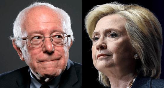 Watch What Bernie Sanders Tells Hillary Clinton When She Advocates Stronger Gun Control