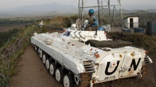 UN tank