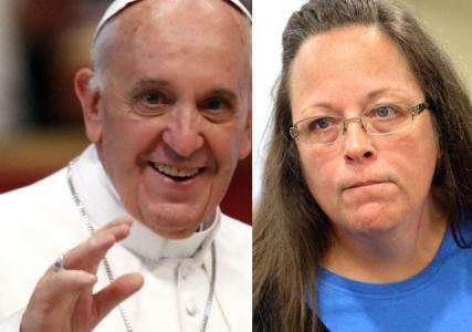 FAITH AND FREEDOM – FRIDAY: Kim Davis' Meeting with Pope Set off Firestorm