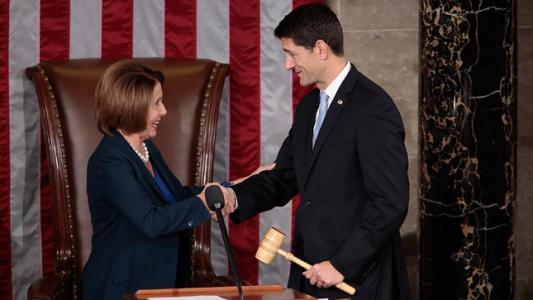 PAUL RYAN elected Speaker