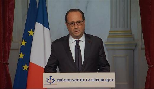 Hollande: 'We are going to lead a war which will be pitiless'
