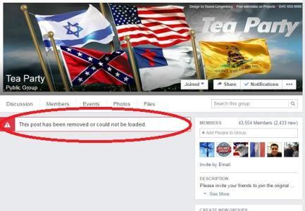 Blocked: Facebook removes damning Bernie Sanders article