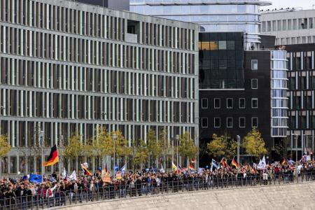 PICTURES: Anti-Migrant Protests Explode in Europe, Call for Merkel to Resign