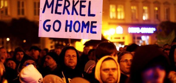Angela Merkel Plots To Overthrow Her People