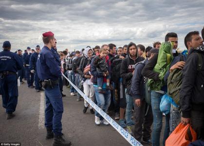 Surprise — Terrorist Leader Caught Hiding Among 'Migrants'