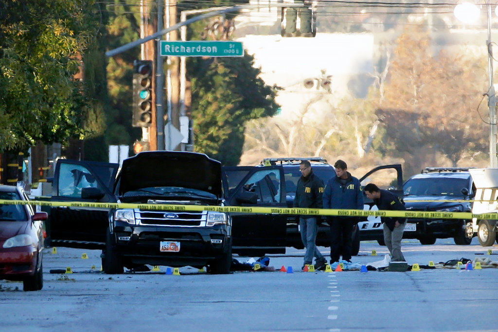 F.B.I Treating San Bernardino Attack as Counterterrorism Investigation