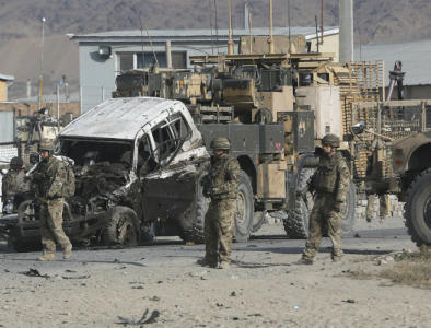 6 NATO soldiers killed in Afghanistan suicide attack were Americans