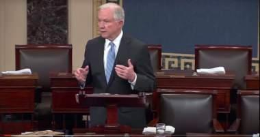 Sen. Sessions Criticizes Immigration Provisions in Omnibus Spending Bill