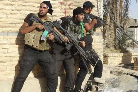 IRAQUI FORCES CAPTURE MOST OF RAMADI