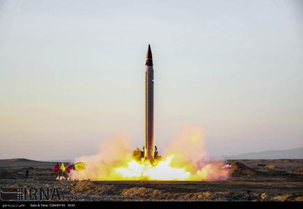 Iran tests another mid-range ballistic missile in breach of UN resolutions
