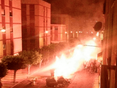MIGRANTS RIOT ON CHRISTMAS DAY IN SPAIN
