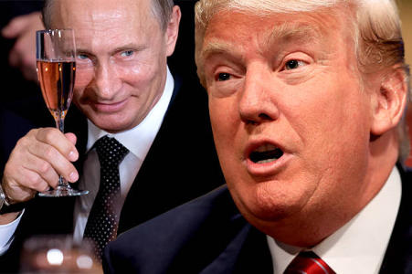 TRUMP'S VIEWS ON PUTIN AND RUSSIA ARE DANGEROUS