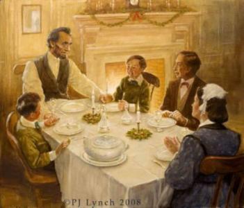President Lincoln and Christmas