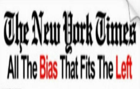 Stunning New York Times headline reveals its bias